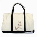 Donkey 5 Two Tone Tote Bag