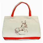 Donkey 5 Classic Tote Bag (Red)