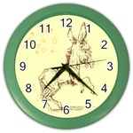 Donkey 5 Color Wall Clock