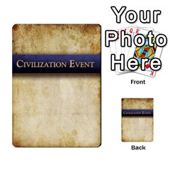 Prophecy Civilization Events Deck By Midaga Back