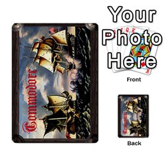 Commodore By Wulf Corbett   Playing Cards 54 Designs (rectangle)   Wq3rz1znczhv   Www Artscow Com Back