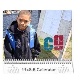 Nat Tennis Center Calendar By Cyril Gittens   Wall Calendar 11  X 8 5  (12 Months)   Xpx3nh6sn6rw   Www Artscow Com Cover