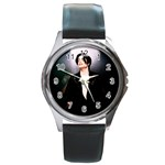 Michael Jackson Round Metal Watch