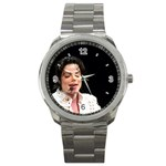 Michael Jackson Sport Metal Watch