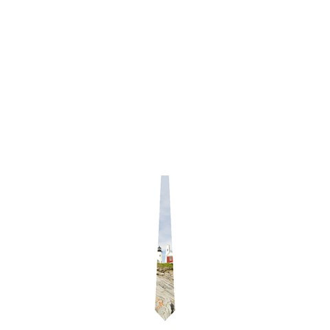 Lighthouse 2 By Matt Haber   Necktie (one Side)   Rlwewrwxgo39   Www Artscow Com Front