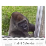 calendar of vacation - Wall Calendar 11  x 8.5  (12-Months)