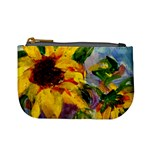 Single Sunflower - Mini Coin Purse