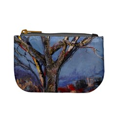 Relief Of A Tree By Alana   Mini Coin Purse   Kn4kv3pfzqz3   Www Artscow Com Front