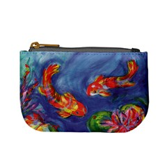 Koi Party By Alana   Mini Coin Purse   Gzeun8xxdo04   Www Artscow Com Front
