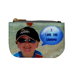 I Love You Grandma!  Mini Coin Purse By Catvinnat   Mini Coin Purse   Q09pyry4p4cy   Www Artscow Com Front