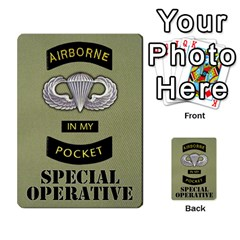 Airborne Deck Layout By James Hebert   Multi Purpose Cards (rectangle)   Zojdh1lc2y9c   Www Artscow Com Back 20