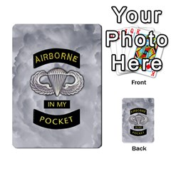Airborne Deck Layout By James Hebert   Multi Purpose Cards (rectangle)   Zojdh1lc2y9c   Www Artscow Com Front 38