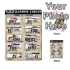 Airborne Deck Layout By James Hebert   Multi Purpose Cards (rectangle)   Zojdh1lc2y9c   Www Artscow Com Front 50