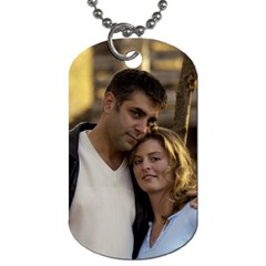 Andrew By Gail Mcginnis   Dog Tag (two Sides)   D7z5v85p3xgm   Www Artscow Com Front