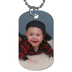 Andrew By Gail Mcginnis   Dog Tag (two Sides)   D7z5v85p3xgm   Www Artscow Com Back