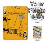 Support our troops - Playing Cards 54 Designs
