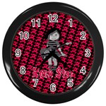 rockstar - Wall Clock (Black)