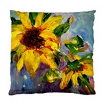 Single Sunflower - Cushion Case (Two Sides)