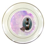 angie kit part 1 plate2 - Porcelain Plate