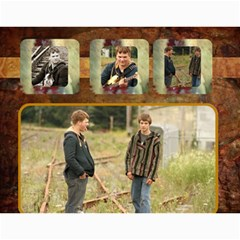 Chris & Steve Senior Pics Calendar By Amyjo Month