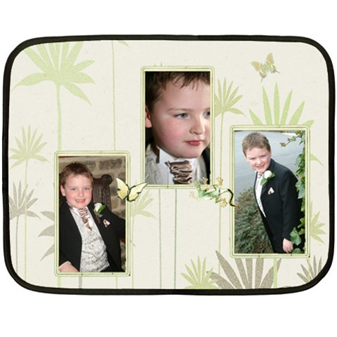 Thats My Boy  Fleece By Catvinnat   Fleece Blanket (mini)   Lgee61uudp3w   Www Artscow Com 35 x27  Blanket