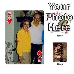 Deck #1 By Ron Sergenian   Playing Cards 54 Designs   Wrlsru7ju7nq   Www Artscow Com Front - Heart5
