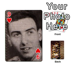 Deck #1 By Ron Sergenian   Playing Cards 54 Designs   Wrlsru7ju7nq   Www Artscow Com Front - Heart9