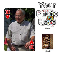 Deck #1 By Ron Sergenian   Playing Cards 54 Designs   Wrlsru7ju7nq   Www Artscow Com Front - Heart10