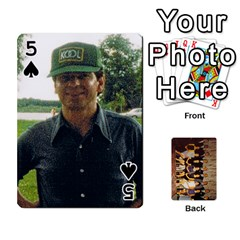 Deck #1 By Ron Sergenian   Playing Cards 54 Designs   Wrlsru7ju7nq   Www Artscow Com Front - Spade5