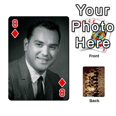 Deck #1 By Ron Sergenian   Playing Cards 54 Designs   Wrlsru7ju7nq   Www Artscow Com Front - Diamond8