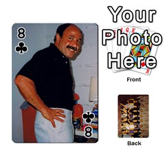 Deck #1 By Ron Sergenian   Playing Cards 54 Designs   Wrlsru7ju7nq   Www Artscow Com Front - Club8