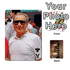 Ace Deck #1 By Ron Sergenian   Playing Cards 54 Designs   Wrlsru7ju7nq   Www Artscow Com Front - ClubA