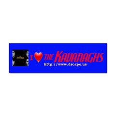 The Kavanaghs  (Bumper)Sticker from ArtsNow.com Front