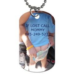 Baby By Christa   Dog Tag (two Sides)   P8zfh7448kj1   Www Artscow Com Front