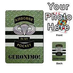 Geronimo! Airborne Expansion By James Hebert   Multi Purpose Cards (rectangle)   Iwu2mfw1tzgd   Www Artscow Com Front 1
