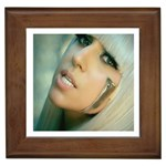 Lady Gaga Framed Tile