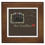 The Beatles Framed Tile