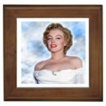 Marilyn Monroe Framed Tile