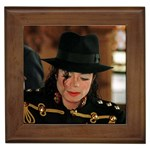 Michael Jackson Framed Tile