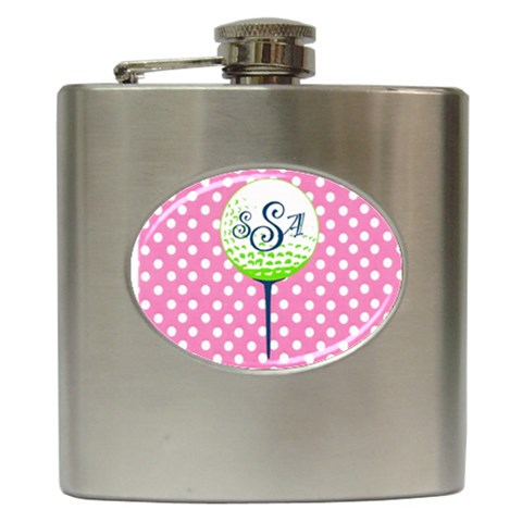 Myflask By Mandy   Hip Flask (6 Oz)   Zzsn8ulgfrte   Www Artscow Com Front