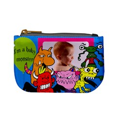 * Monster Baby * By Carmensita   Mini Coin Purse   79l1s62r9zbk   Www Artscow Com Front