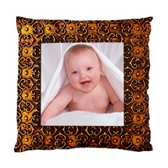 Gold Frame Quick Cushion Cover Copy Me!!! By Catvinnat   Standard Cushion Case (two Sides)   L0d8lgu9onyq   Www Artscow Com Back