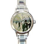 RainyParis Round Italian Charm Watch