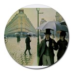 RainyParis Round Mousepad