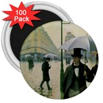 RainyParis 3  Magnet (100 pack)