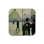 RainyParis Rubber Square Coaster (4 pack)