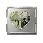 RainyParis Mega Link Heart Italian Charm (18mm)