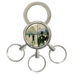RainyParis 3-Ring Key Chain