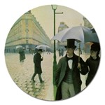 RainyParis Magnet 5  (Round)