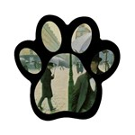 RainyParis Magnet (Paw Print)